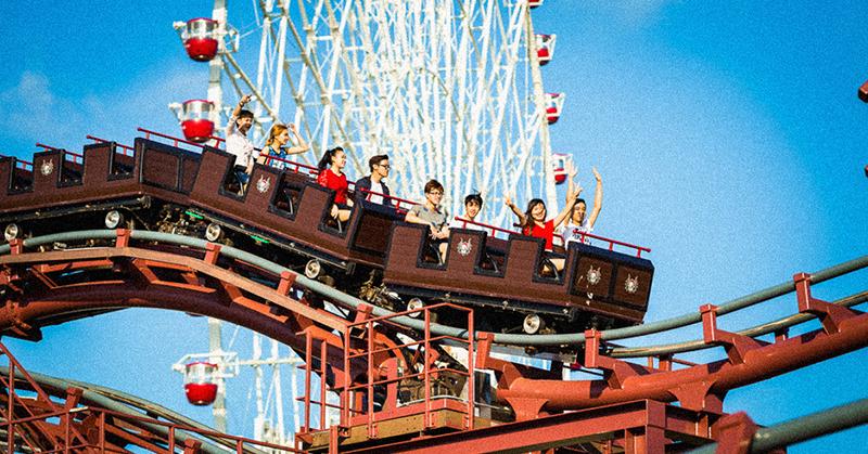 Sin gritar: Parques de atracciones en Japón se preparan para volver