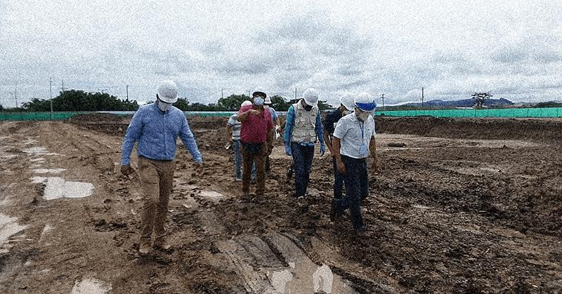 Consorcio recibió anticipo para la construcción del Hospital de Pedernales