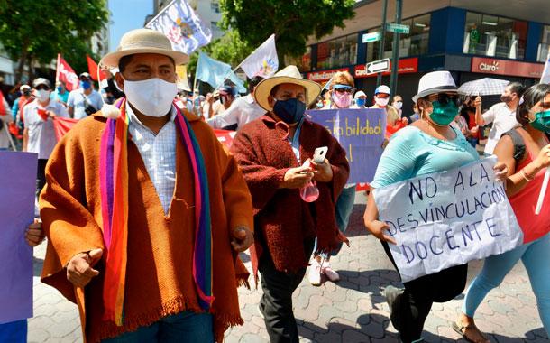 El Gobierno critica protestas en su contra por el riesgo de contagio