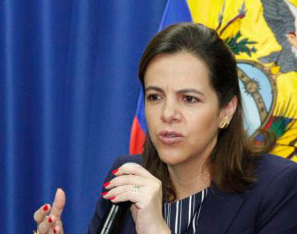 Ministra Romo dio a conocer resultados de varios operativos en el país