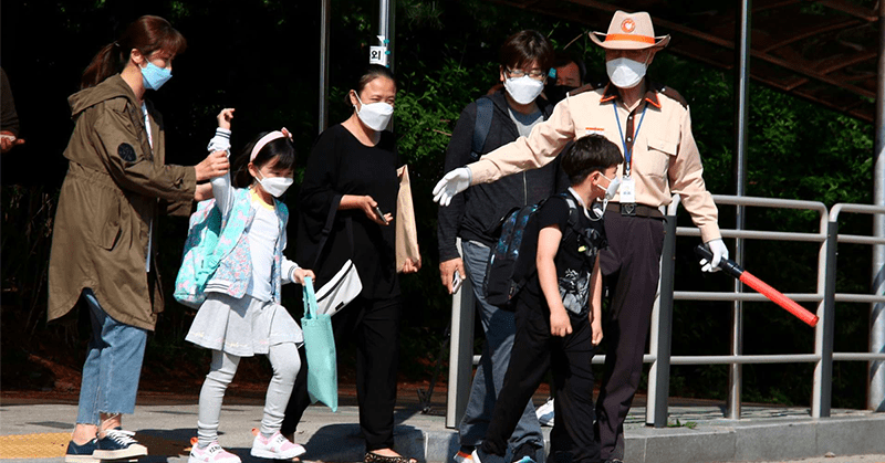 Seúl endurece medidas ante un repunte de casos por coronavirus