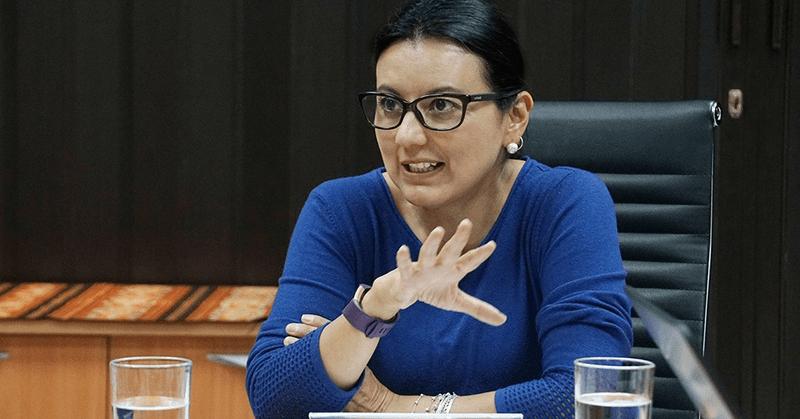 Entrevista a la directora general del SERCOP, Silvana Vallejo Páez