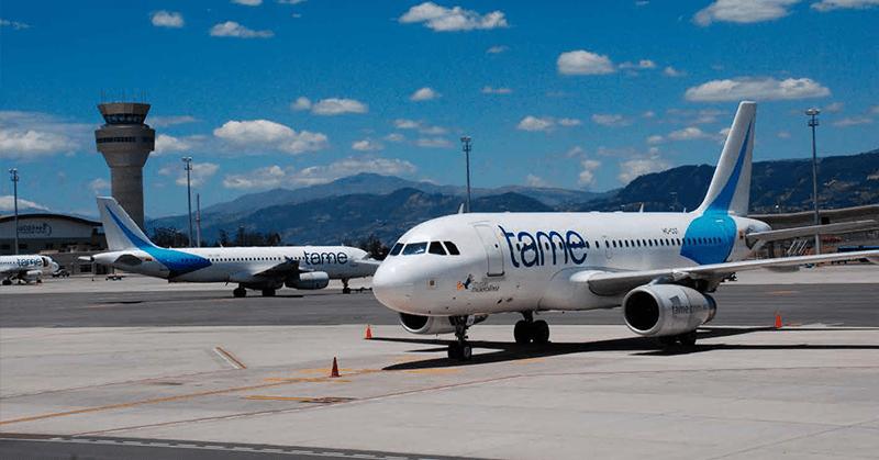 Aerolínea Tame entró en plazo de 180 días para su extinción