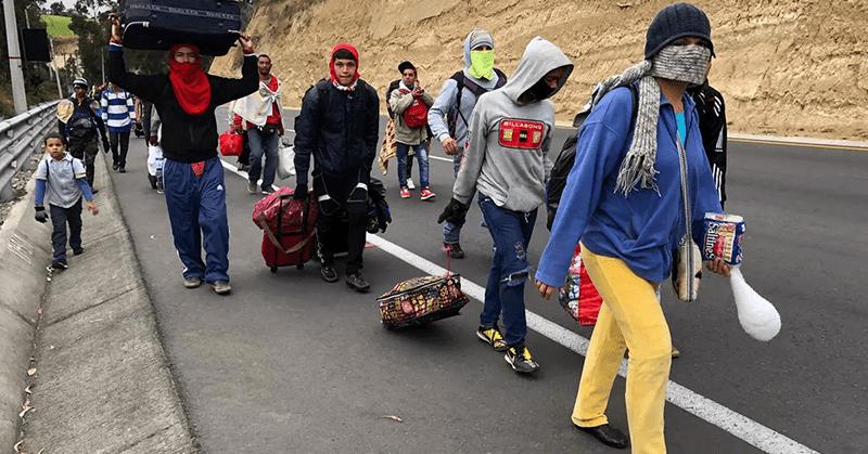 90 ciudadanos venezolanos retornaron a su país en un vuelo humanitario