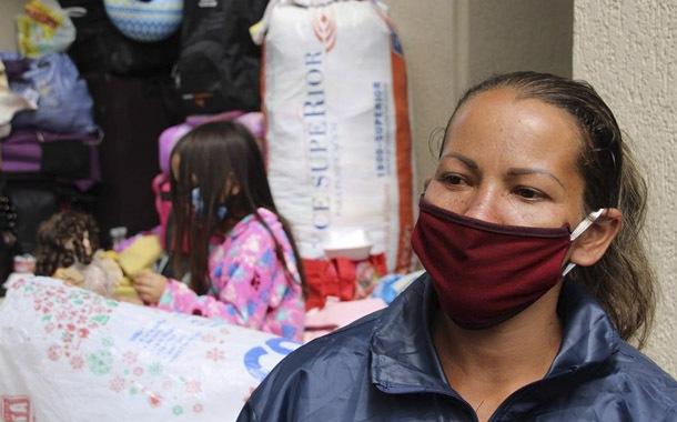 Venezolanos en Quito esperan ser repatriados