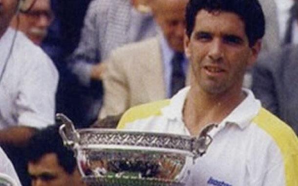 Andrés Gómez, a 30 años de la hazaña de Roland Garros