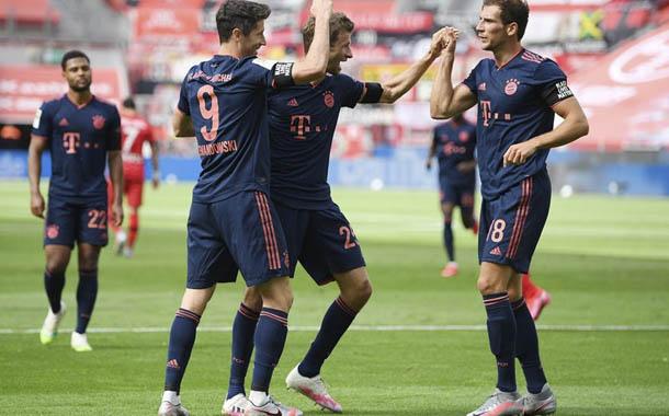 Bayern Múnich avanza firme hacia el título de la Bundesliga