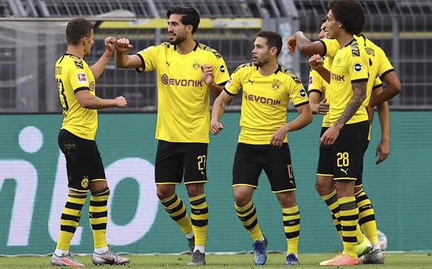 Borussia Dortmund derrota a Hertha Berlín y se acerca a Liga de Campeones