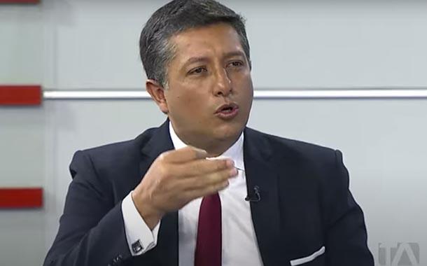 Christian Cruz, presidente del Cpccs analiza veeduría en concurso de frecuencias