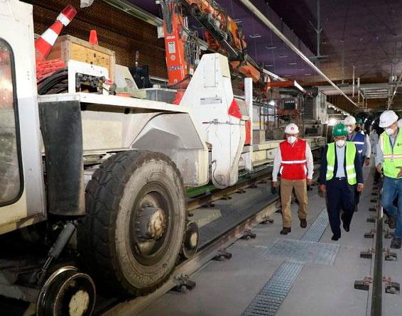 Estrictas medidas de bioseguridad para trabajadores del Metro