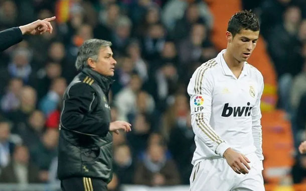 El momento en el que Mourinho casi hace llorar a Cristiano