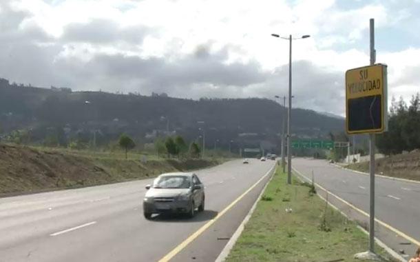 Hasta el sábado se colocarán 10 radares en la Simón Bolívar y Ruta Viva