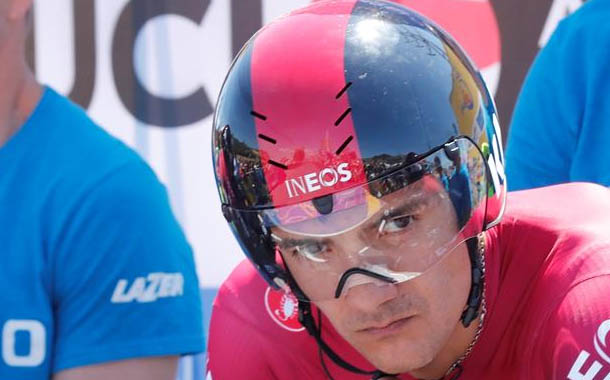 Richard Carapaz tendrá tres competencias antes del Giro de Italia