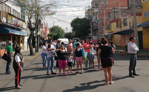 Usuarios grabaron el momento exacto del sismo en Oaxaca, México