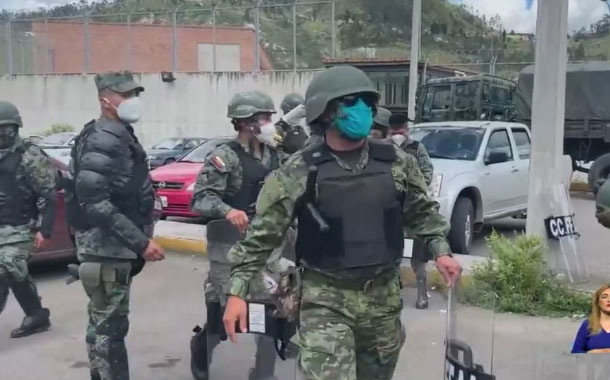 Internos de la cárcel de Turi intentaron amotinarse este lunes