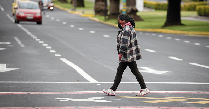 Los ciudadanos en Quito se preparan para el cambio de semáforo