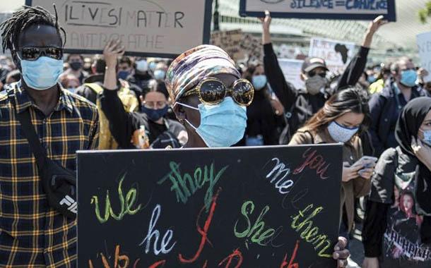 Bélgica se une a las protestas por muerte de George Floyd