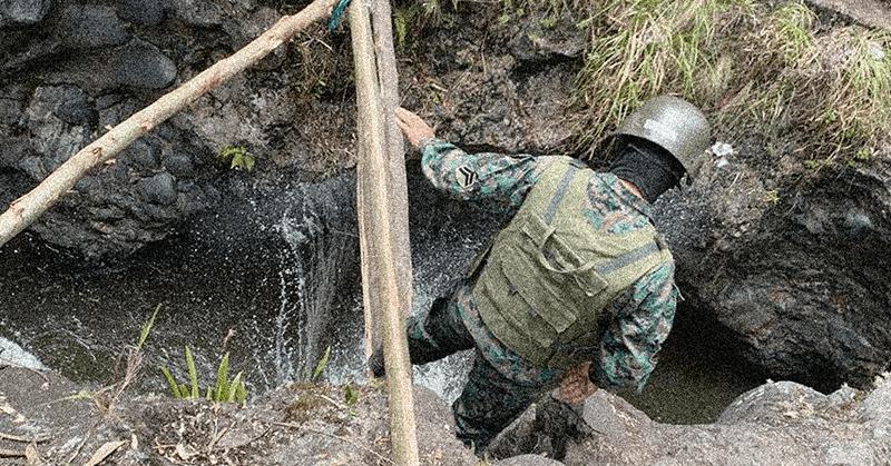 Autoridades destruyen pasos informales para frenar la migración irregular