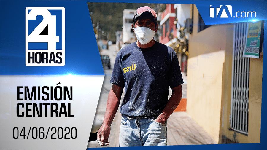 Noticiero 24 Horas, 04/06/2020 (Emisión Central)