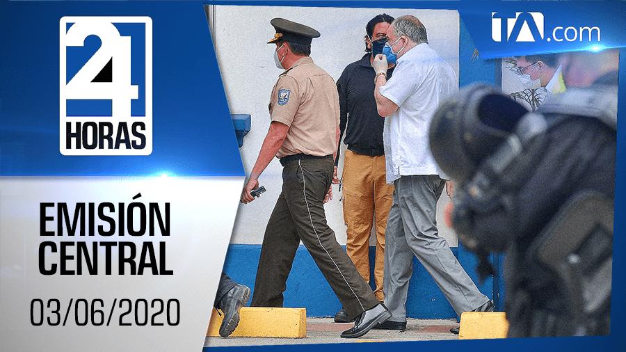 Noticiero 24 Horas, 03/06/2020 (Emisión Central)