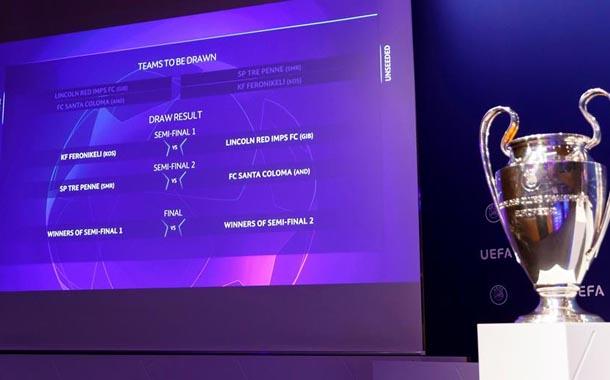 Champions y Liga de Europa se sorteará el 10 de julio