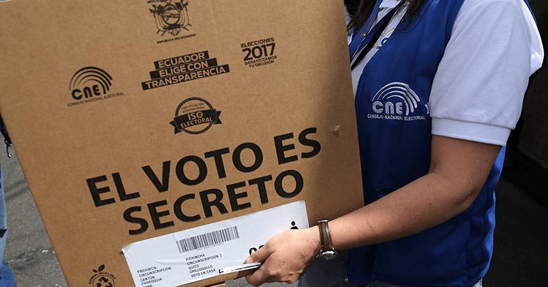 El pleno del Consejo Nacional Electoral aprobó el registro electoral pasivo