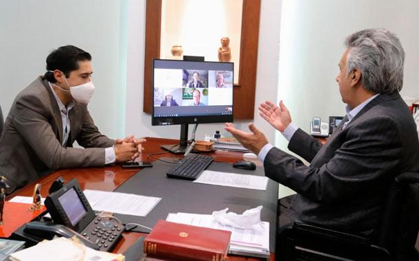 Lenín Moreno se reúne con el Consejo Asesor en materia económica