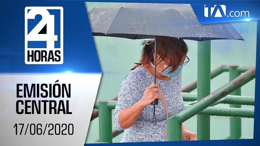 Noticiero 24 Horas, 17/06/2020 (Emisión Central)