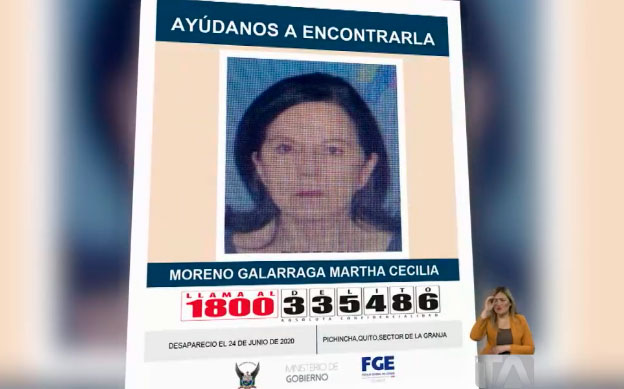 Una mujer de 75 años se encuentra desaparecida