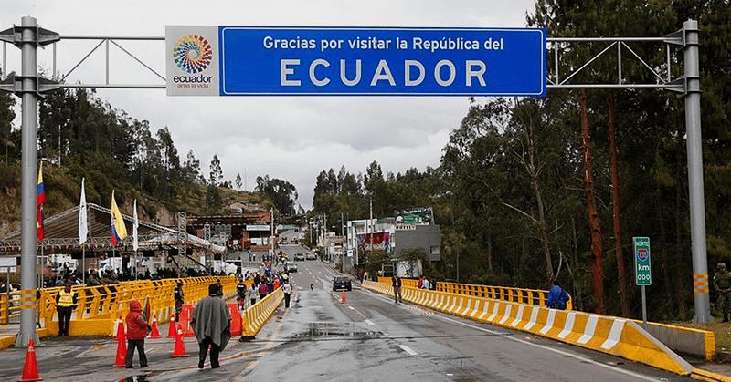 Colombia reabre la frontera con Ecuador solo para retorno de compatriotas