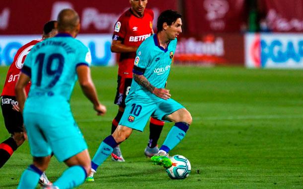 El FC Barcelona goleó al Mallorca en el regreso de LaLiga