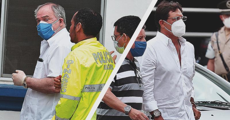 El expresidente Abdalá Bucaram y el prefecto Carlos Luis Morales fueron detenidos
