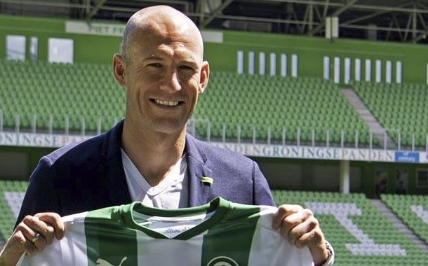 Groningen anuncia el fichaje de Arjen Robben