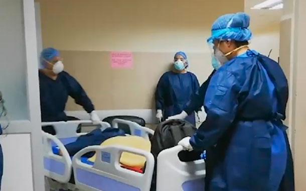 La capacidad de atención hospitalaria está al límite en Quito