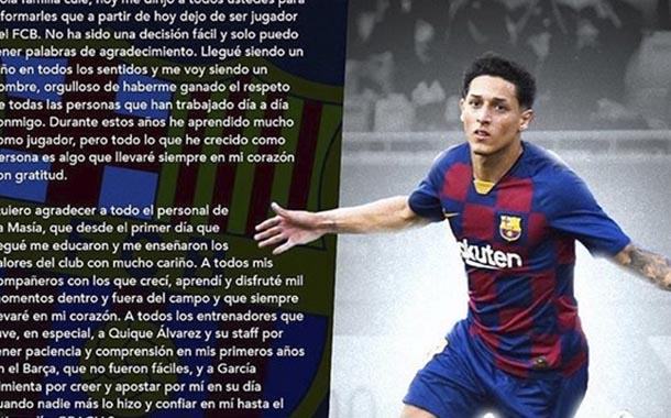 Kike Saverio se despide de Barcelona con emotiva carta