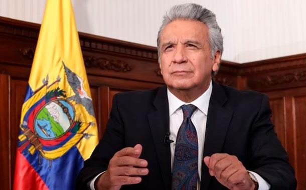 Lenín Moreno anunció tres acciones para enfrentar pandemia en Quito