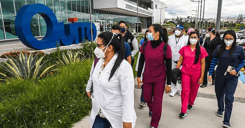 Guayaquil envió misión de médicos a Quito para luchar contra el COVID-19