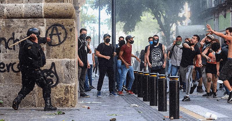 Protestas en México por la muerte de un hombre 'a manos de la policía'