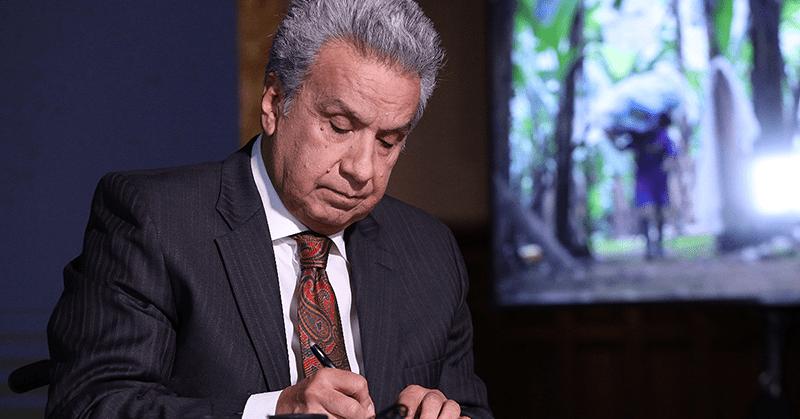 Presidente Moreno envió el veto parcial al proyecto de Ley de Apoyo Humanitario