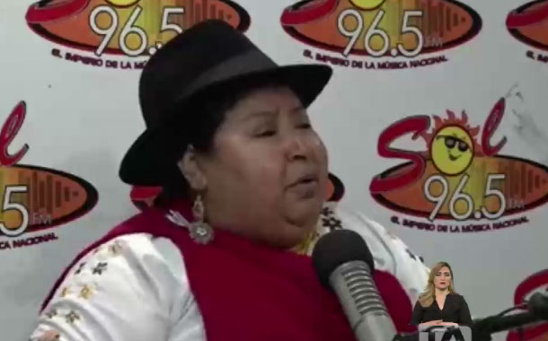Viceprefecta de Chimborazo falleció por una insuficiencia respiratoria severa