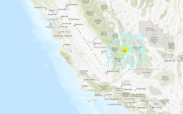 Sismo en California pone en alerta a la costa oeste de EE.UU.