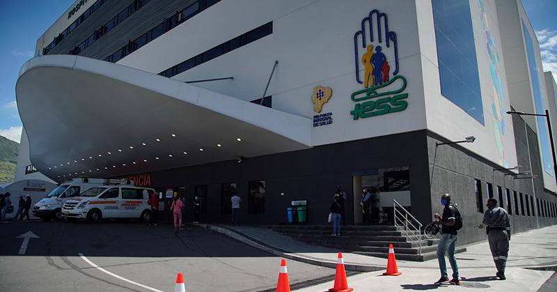 El hospital de IESS Quito Sur inició el procesamiento de pruebas para COVID-19