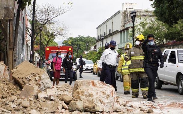 Terremoto en México deja al menos medio millar de casas dañadas