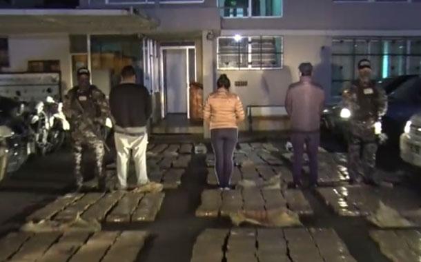 Policía Nacional incautó una tonelada de cocaína en un camión