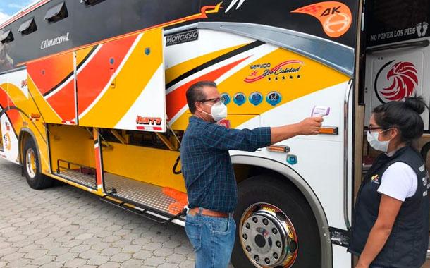 Transporte interprovincial se reactivará desde el 15 de junio