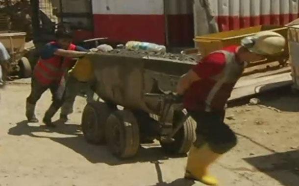 La industria minera a gran escala se reactiva en el país