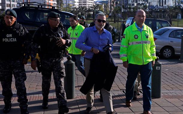 Azuero deberá acudir a la audiencia por el caso de delincuencia organizada