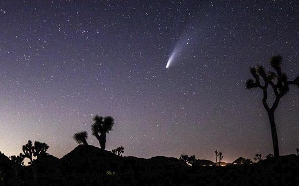 Cometa Neowise podrá ser visto desde Ecuador
