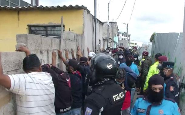 La AMC suspendió una fiesta clandestina en Quito