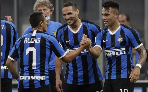 Lautaro y Godín anotan y el Inter se afianza en segundo lugar